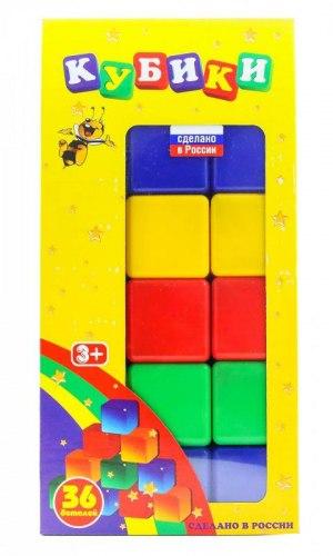 Набор из 36 кубиков