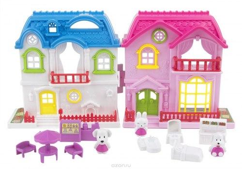 """Домик """"Солнечный городок, ул.Зеленая, дом 3"""" с мебелью и жителями EstaBela"""