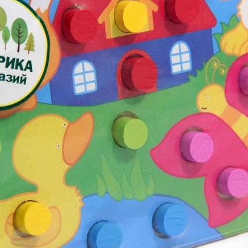 """Деревянная рамка-вкладыш """"Учим цвета"""""""