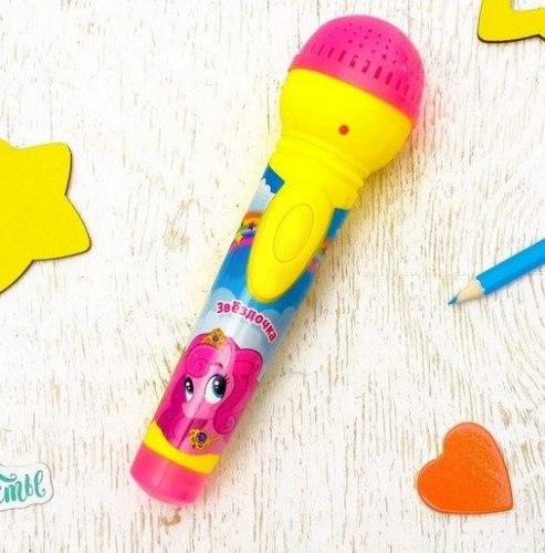 """Музыкальная игрушка """"Микрофон. Звёздочка"""""""