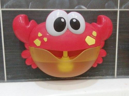 """Набор для ванны """"Веселый краб"""" с мыльными пузырями"""