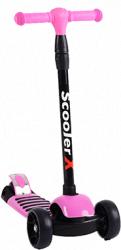"""Трехколесный детский самокат"""" Scooter X"""" розовый Candy"""