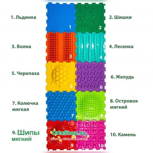 """Коврик """"ОРТО"""" Mикс 10 пазлов """"Профи"""" Ортодон + подарок"""
