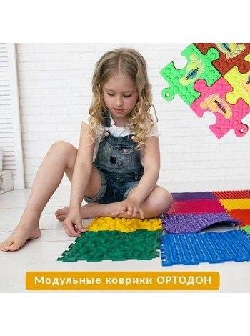 """Коврик """"ОРТО"""" Микс 6 пазлов """"Шажочки"""" Ортодон"""