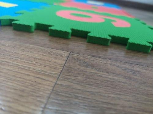 """Мягкий игровой пол """"Математика"""" 15 пазлов, 25×25см ECO COVER Россия"""