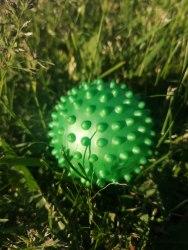 """Массажный мячик """"Ёжик"""" 7-8 см, мягкий"""