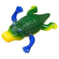 """Заводная игрушка для ванны """"Крокодил"""""""