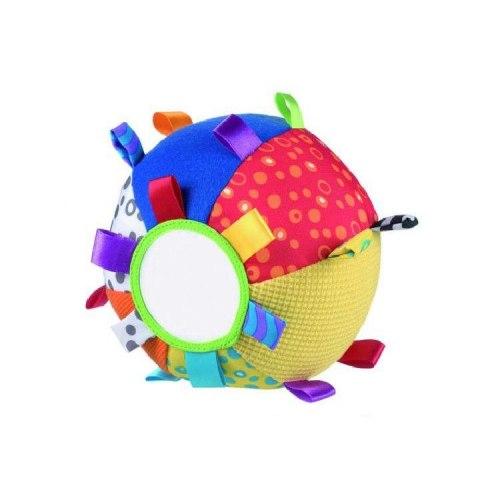 """Мягкий мячик-шар с зеркальцем """"Умняша"""" 16 см"""