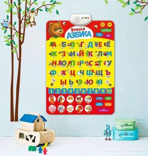Обучающий плакат «Умная азбука»