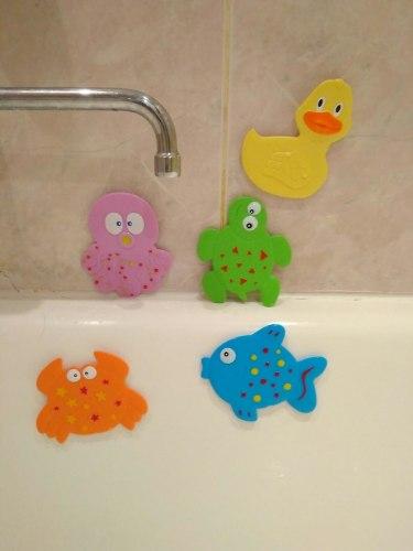 """Набор мини-ковриков для ванны """"Малышам"""" (на присосах), 5 шт"""