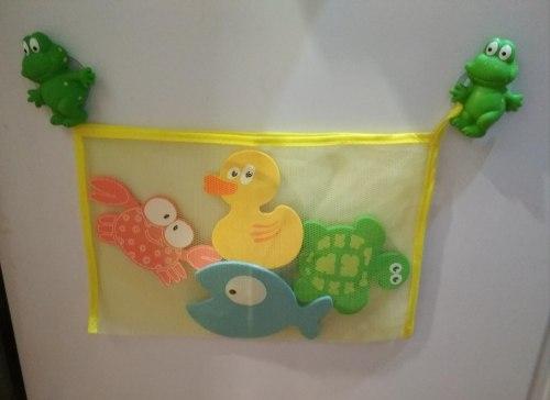 """Набор мини-ковриков для ванны """"Глазастики"""" (на присосах), 4 шт"""