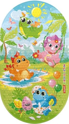 """Коврик для ванны """"Динозаврики"""""""