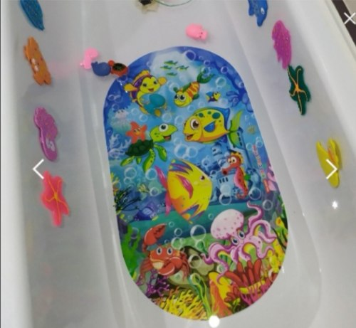 "Коврик для ванны ""Подводное царство"" Valiant, Россия"