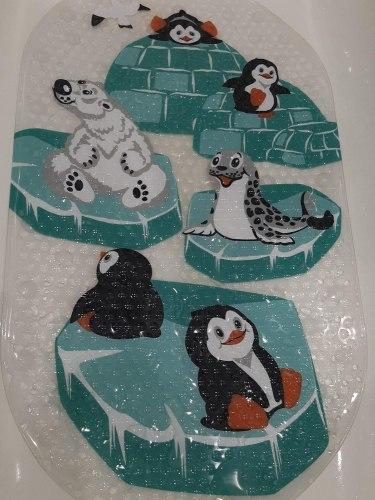"""Коврик для ванны """"Животные заполярья"""""""