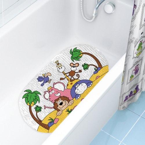 """Коврик для ванны """"Животные Африки"""""""
