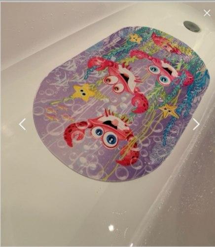 """Коврик для ванны """"Озорные крабики"""""""