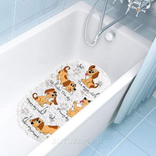 """Коврик для ванны """"Собачки"""""""