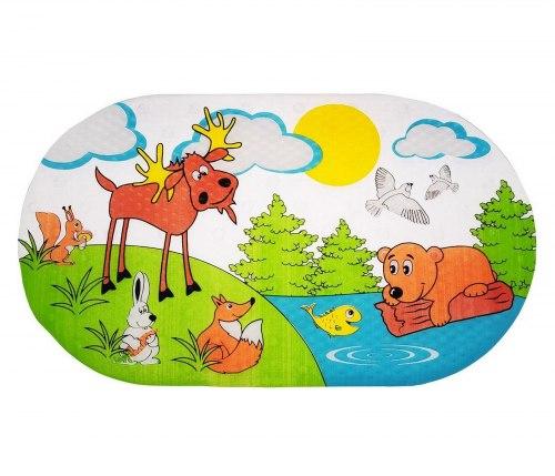 """Коврик для ванны """"Лесные животные"""""""
