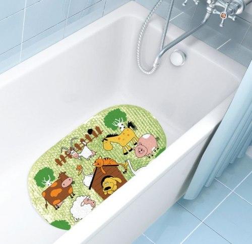 """Коврик для ванны """"Домашние животные"""""""