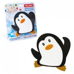 """Мини коврик для ванной """"Пингвин"""", 1 шт (на присосках)"""