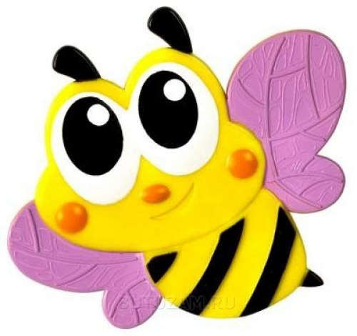 """Мини коврик для ванной """"Пчёлка"""", 1 шт (на присосках)"""