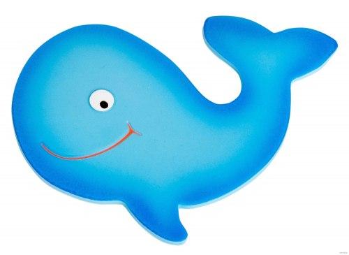 """Мини коврик для ванной """"Добрый кит"""", 1 шт (на присосках)"""