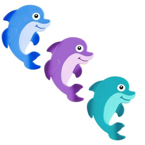 """Мини коврик для ванной """"Дельфинчик"""", 1 шт (на присосках)"""