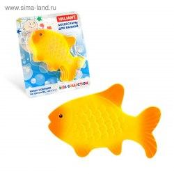 """Мини коврик для ванной """"Золотая рыбка"""", 1 шт (на присосках)"""