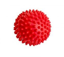 Мяч массажный 6 см, жесткий (красный, синий)