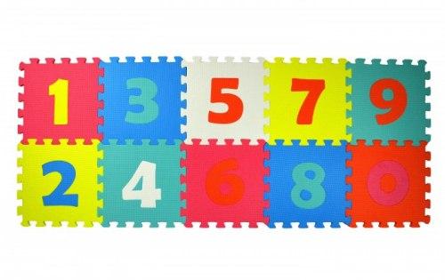 "Игровой коврик-пазл ""Цифры"" 10 деталей 30х30х1см"