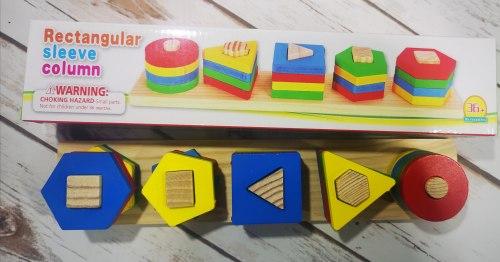 """Пирамидка логика для малышей """"Фигуры"""""""