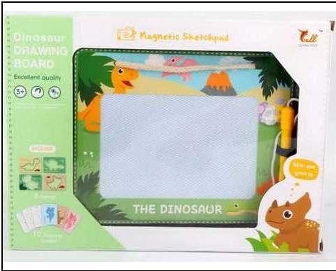 """Волшебная магнитная доска для рисования """"Динозаврики"""""""