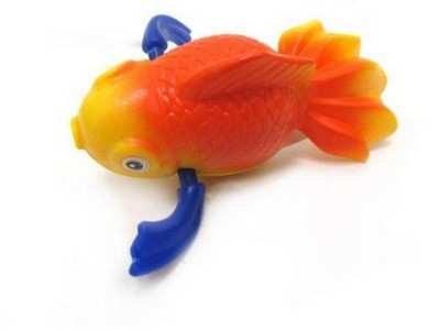 """Заводная игрушка для ванны """"Золотая рыбка"""""""