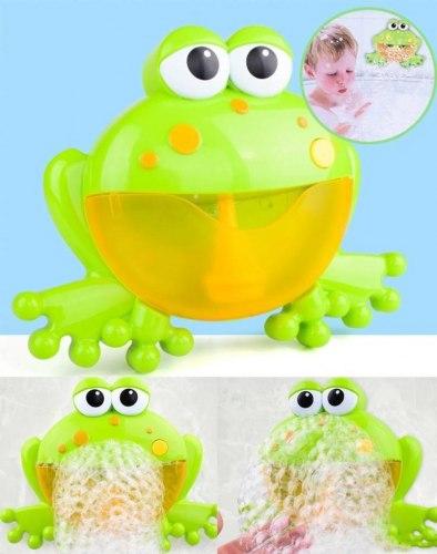 """Набор для ванны """"Лягушка"""" с мыльными пузырями"""