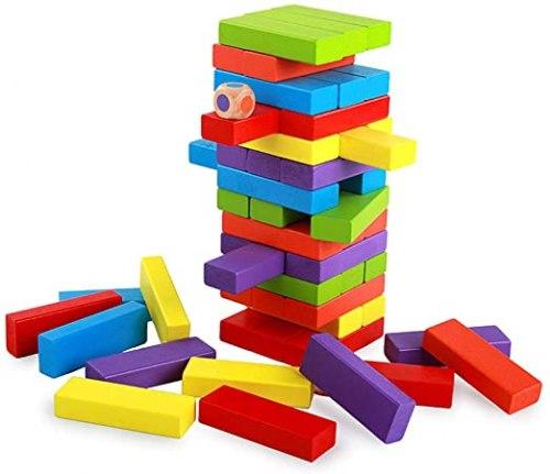 """""""Башня Дженга Зоопарк"""" настольная игра для малышей"""