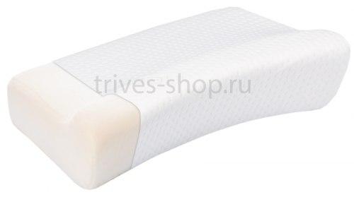 Ортопедическая подушка с «эффектом памяти» ТОП-116 Средне-мягкая Высота 13 см trives ТОП-116