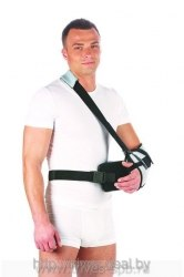 Бандаж на плечевой сустав фиксирующий с абдукционной подушкой ТРИВЕС Т-8106