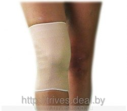 Бандаж на коленный сустав эластичный, согревающий ТРИВЕС DO203