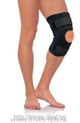 Бандаж на коленный сустав разъемный, с метал.шарнирами ТРИВЕС Т-8508