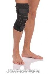 Бандаж компрессионный на коленный сустав с металлич.шарнирами ТРИВЕС Т-8515