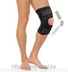 Бандаж на коленный сустав разъемный с металлическими шарнирами ТРИВЕС Т-8518