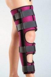 Ортез (фиксирующая шина) коленного сустава ORTEX 03A