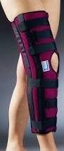Ортез (фиксирующая шина) коленного сустава (с флексией 20гр) ORTEX 05