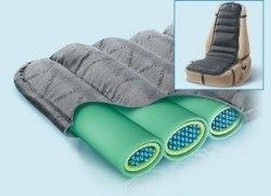 Ортопедический матрац с подушкой под поясницу на автомобильное сидение TRELAX TRELAX МА 50/110