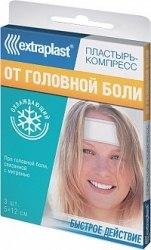 EXTRAPLAST Охлаждающий От головной боли Sinsin Pharmaceutical Co От головной боли