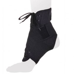 Бандаж на голеностопный сустав со шнуровкой и ребрами жесткости AS-ST/M Экотен AS-ST/M