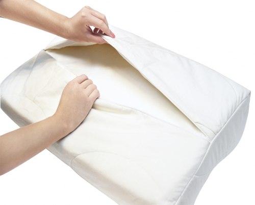 """Подушка ортопедическая """"Silk Paradise"""" с эффектом памяти, натуральный шелк CO-04-208 Высота 12 см Экотен CO-04-208"""
