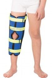 Детский бандаж на коленный сустав для полной фиксации (тутор) Т-8535 ТРИВЕС Т-8535