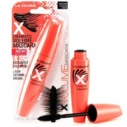 Тушь L.A. COLORS X Volume Mascara - Extreme Black