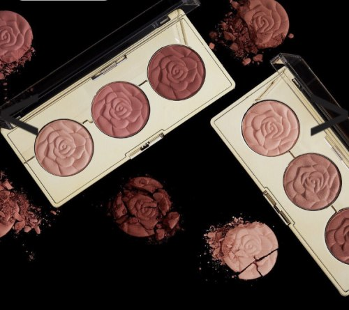 Румяна MILANI Rose Blush Trio Palette - 01 Flowers of Love